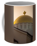 Dome And Cross At St Sophia Coffee Mug