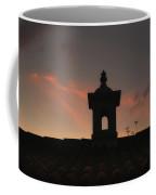 Dome And Sunset - Antigua Guatemala Coffee Mug