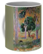 Dominican Landscape Coffee Mug by Paul Gauguin