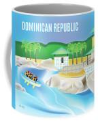 Dominican Republic Horizontal Scene Coffee Mug