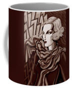 Dominique In Sepia Tone Coffee Mug