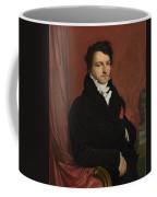 Dominique Ingres   Monsieur De Norvins Coffee Mug