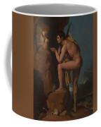 Dominique Ingres   Oedipus And The Sphinx Coffee Mug