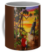 Don Quixote And Sancho Coffee Mug