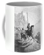 Don Quixote And Sancho Coffee Mug by Granger