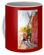 Don Quixote In San Juan Coffee Mug by Estela Robles