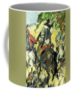 Don Quixote, View From The Back Coffee Mug