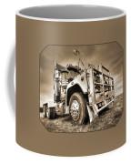 Done Hauling - Sepia Coffee Mug