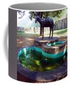 Donkey Fountain Coffee Mug