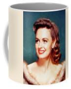 Donna Reed By John Springfield Coffee Mug