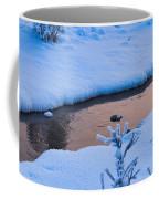 Donnelly Creek In Winter Coffee Mug
