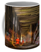 Donner Snow Sheds 8 - Ghosting Coffee Mug by Jim Thompson