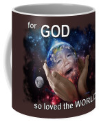 Don't Cry Little Earth Coffee Mug