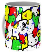 Doodle Abstract Coffee Mug