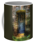 Door - A Rather Old Door Leading To Somewhere Coffee Mug
