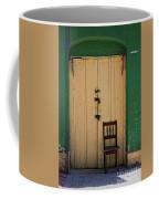 Door And Chair Coffee Mug