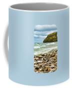 Door County Porcupine Bay Waves Coffee Mug