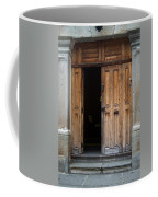 Door Entrance To Church In Guatemala Coffee Mug