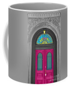 Door Fushia Coffee Mug