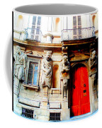 Door To Milan Coffee Mug by Michelle Dallocchio