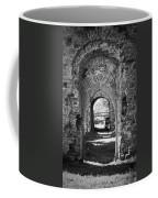 Doors At Ballybeg Priory In Buttevant Ireland Coffee Mug
