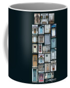 Doors Of Door County Poster Coffee Mug