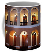 Doors Of San Juan Square Coffee Mug