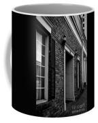 Doorway Black And White Coffee Mug