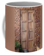 Doorway Steps Back In Time Coffee Mug