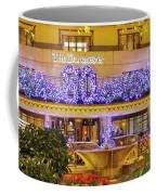 Dorchester Hotel London At Christmas Coffee Mug