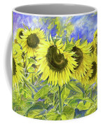 Dordogne Sunflowers Coffee Mug