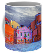 Dorsoduro Colors Under The Clouds 2 Coffee Mug
