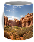 Double Arch Famous Landmark In Arches National Park Utah Coffee Mug