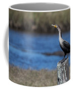 Double-crested Cormorant Coffee Mug