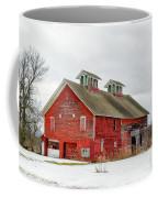 Double Cupola Barn Coffee Mug
