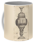 Double Goblet With Oval Decorations Coffee Mug