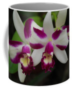Double Orchid Coffee Mug