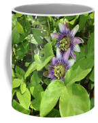 Double Passion Flowers Coffee Mug