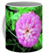Double Pink Zinnia Coffee Mug