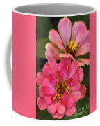 Double Vision In Pink Coffee Mug