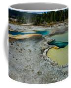 Doublet Pool Hot Spring In Yellowstone Coffee Mug