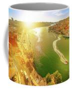 Douro River At Sunset Coffee Mug