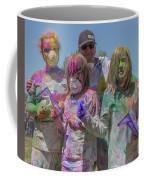 Doused With Color 3 Coffee Mug