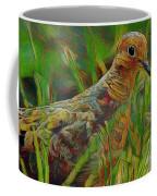 Dove Painterly Coffee Mug