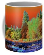Down Along The Spokane River Coffee Mug