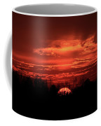 Down For The Count Sunset Art Coffee Mug
