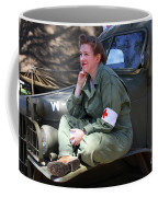 Down Time-us Army Nurse Corps Coffee Mug