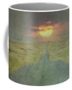 Downhill Sunset Coffee Mug