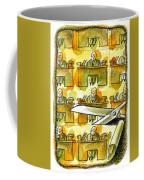 Downsizing Coffee Mug
