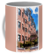 Downtown Burlington Vermont Watercolor Coffee Mug